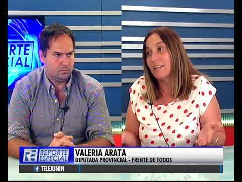 Valeria Arata conversó con Franco Ruiz en Reporte Especial