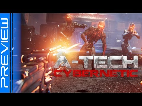 Doom VR Done Properly! A-Tech Cybernetic | PSVR Preview