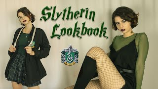 SLYTHERIN LOOKBOOK | 4 HARRY POTTER INSPIRED OUTFIT IDEAS