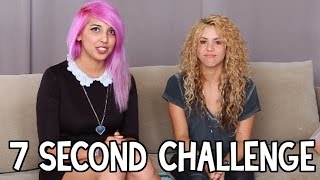 7 Second Challenge with Shakira