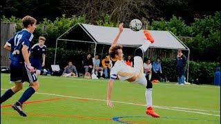 MY BEST LONG RANGE VOLLEY EVER!! | High School Soccer / Football Highlights (Season 3, Ep.2)