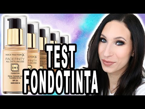 Test Max Factor Facefinity All Day Flawless 3 in 1 Foundation | Giulia Bencich