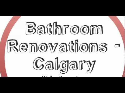 Bathroom Renovations Calgary By Walker Renovations / Walker Industries