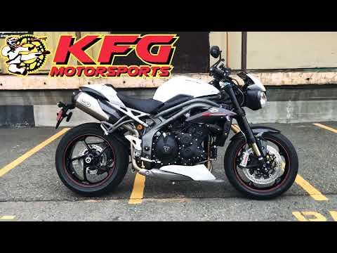 2019 Triumph Speed Triple RS in Auburn, Washington - Video 1