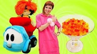 Видео для детей. Маша Капуки готовит варенье. Учим фрукты