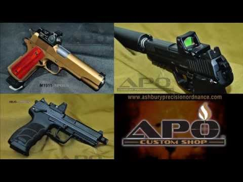 Custom Pistols From APO Custom Shop