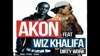 Akon feat Wiz Khalifa - Dirty Work [2013] [HD]