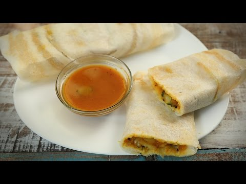 How to make Masala dosa – Popular South Indian Breakfast Recipe – Masala Trails