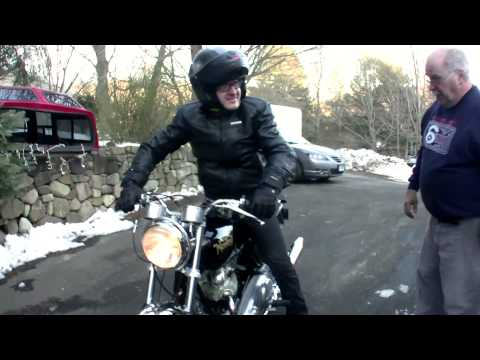The story about how two brothers stole their father's 1969 Norton Commando, had it restored and then gave it back to him for Christmas. He had no idea.