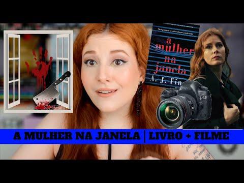 A MULHER NA JANELA   LIVRO + FILME