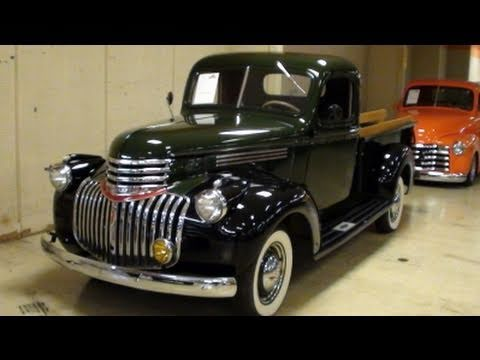 Restored 1946 Chevrolet Pickup