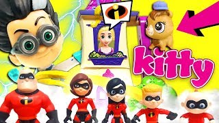 The Incredibles Get Sick! Featuring Incredibles 2 Movie Toys, Mr. Incredible, Elastigirl, and Dash!