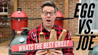 Big Green Egg Vs. Kamado Joe - Which Is The Best Grill?  Review & Comparison | Smoking Dad BBQ
