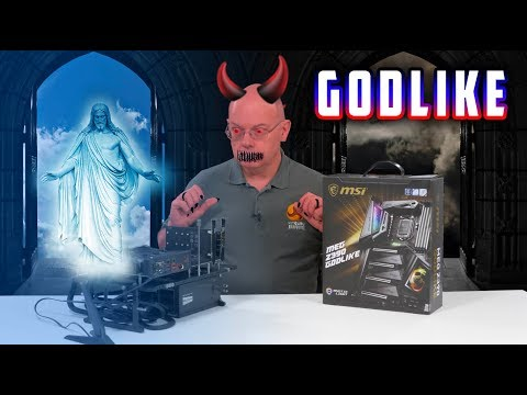 MSI MEG Z390 GODLIKE Motherboard Review – The £600 MOBO!!!