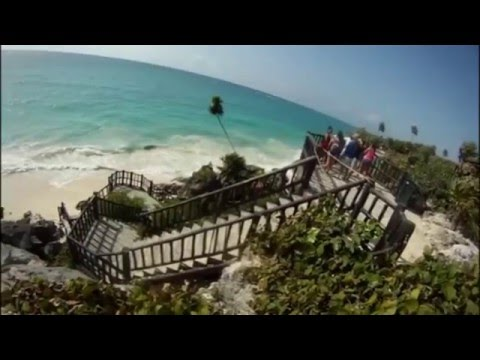 Adventures In Mexico -Playa Del Carmen – TULUM – Mayan Jungle Tour – Swimming With Whale Sharks 2015
