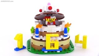 LEGO Birthday Table Decoration Review! Set 40153