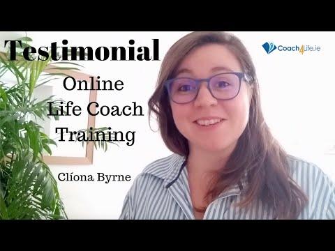 Clíona Byrne Testimonial Life Coach Online Training - YouTube