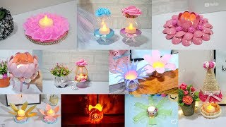 10 AMAZING CANDLE HOLDER CRAFT IDEAS! HOME DECORATING IDEAS HANDMADE
