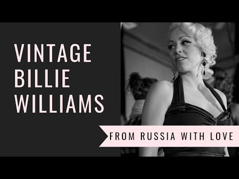 Vintage Billie Williams Video