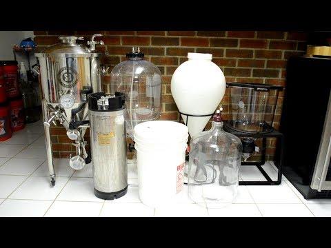 Choosing a Fermenter: Bucket, Carboy, Keg, or Conical
