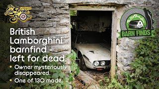Barn find Lamborghini survivor - abandoned 30 years ago