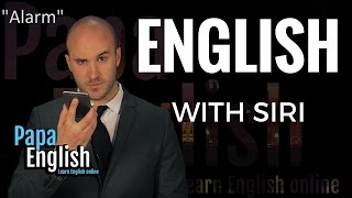 Can Siri teach you English?!