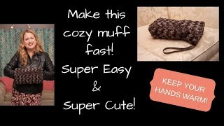 Gift Idea - DIY Make This Easy Muff Fast