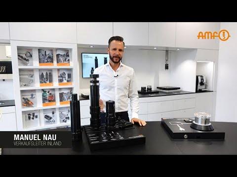 Für die Fixierung großer und mittelgroßer Bauteile: Der AMF-Schraubbock