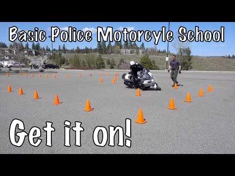 Basic Police Motorcycle School-New Students-High Speed Track ...