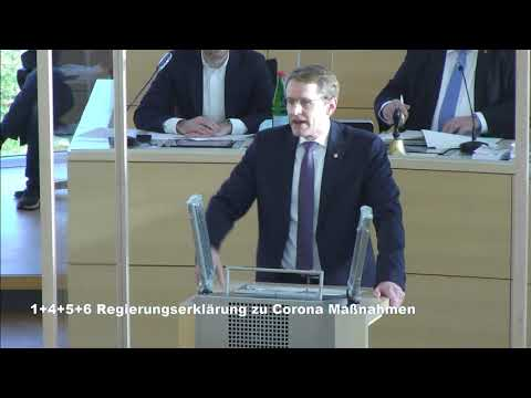 Regierungserklärung im Landtag