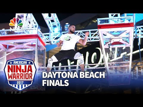 JJ Woods at the Daytona Beach City Finals - American Ninja Warrior 2017