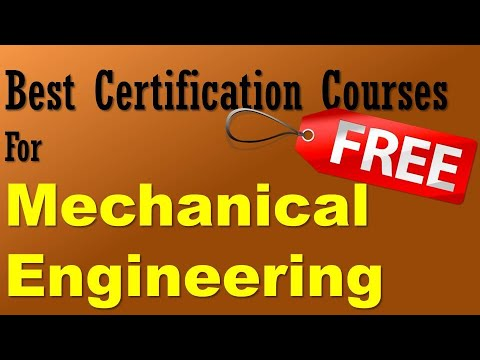 Best Free Certification Courses for Mechanical Engineering Students