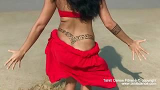 OTE'A MALAE on the BEACH/ Polynesian Tahitian Dance - Ori Tahiti / Tahiti Dance Fitness / タヒチアンダンス