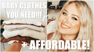 BABY CLOTHES YOU NEED! Cute & AFFORDABLE! Where I Shop For Baby Girl Clothes! ♡