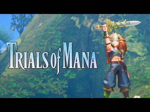 Trials of Mana | The Sacred Sword Trailer