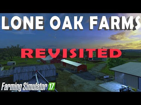 LONE OAK FARM REVISITED | Farming Simulator 17 PS4 - FARMER MINN
