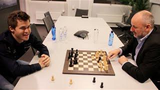 Magnus Carlsen vs. Espen Agdestein: Knipse-Sjakk (Flick Chess)