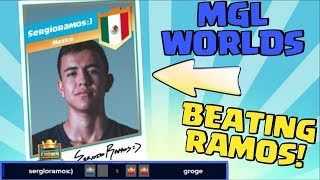 I BEAT PRO 'sergioramos:)' | MGL Worlds UK Vs Mexico Match | Clash Royale