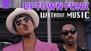UPTOWN FUNK - Mark Ronson ft. Bruno Mars (House of Halo #WITHOUTMUSIC parody)