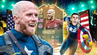 THE BEST VALUE FLASHBACK SBC?! 87 FLASHBACK BRADLEY PLAYER REVIEW! FIFA 19 Ultimate Team