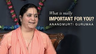 What is really important for you? | Anandmurti Gurumaa