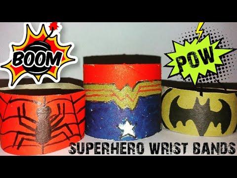 Superhero Wrist Bands