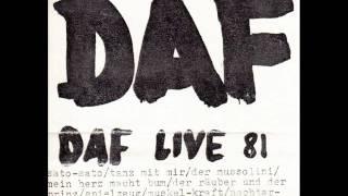 DAF (Deutsch Amerikanische Freundschaft) - Verlier Nicht Den Kopf (Live 1981)