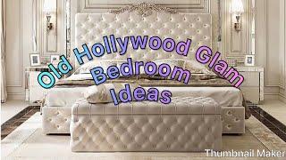 #glamdecor/ HOLLYWOOD GLAM BEDROOM IDEAS/ GLAMOROUS BEDROOM DESIGNS #bedroomideas #glamhome