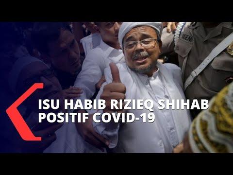 dikabarkan positif corona fpi habib rizieq shihab sedang istirahat