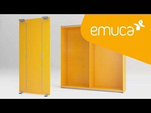 How to mount Even truss on wooden doors – Emuca