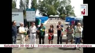 preview picture of video 'Saludecio - Inaugurazione stazione ecologica'