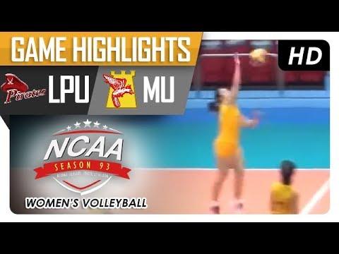 NCAA 93 WV: LPU vs. MU | Game Highlights | January 15, 2018