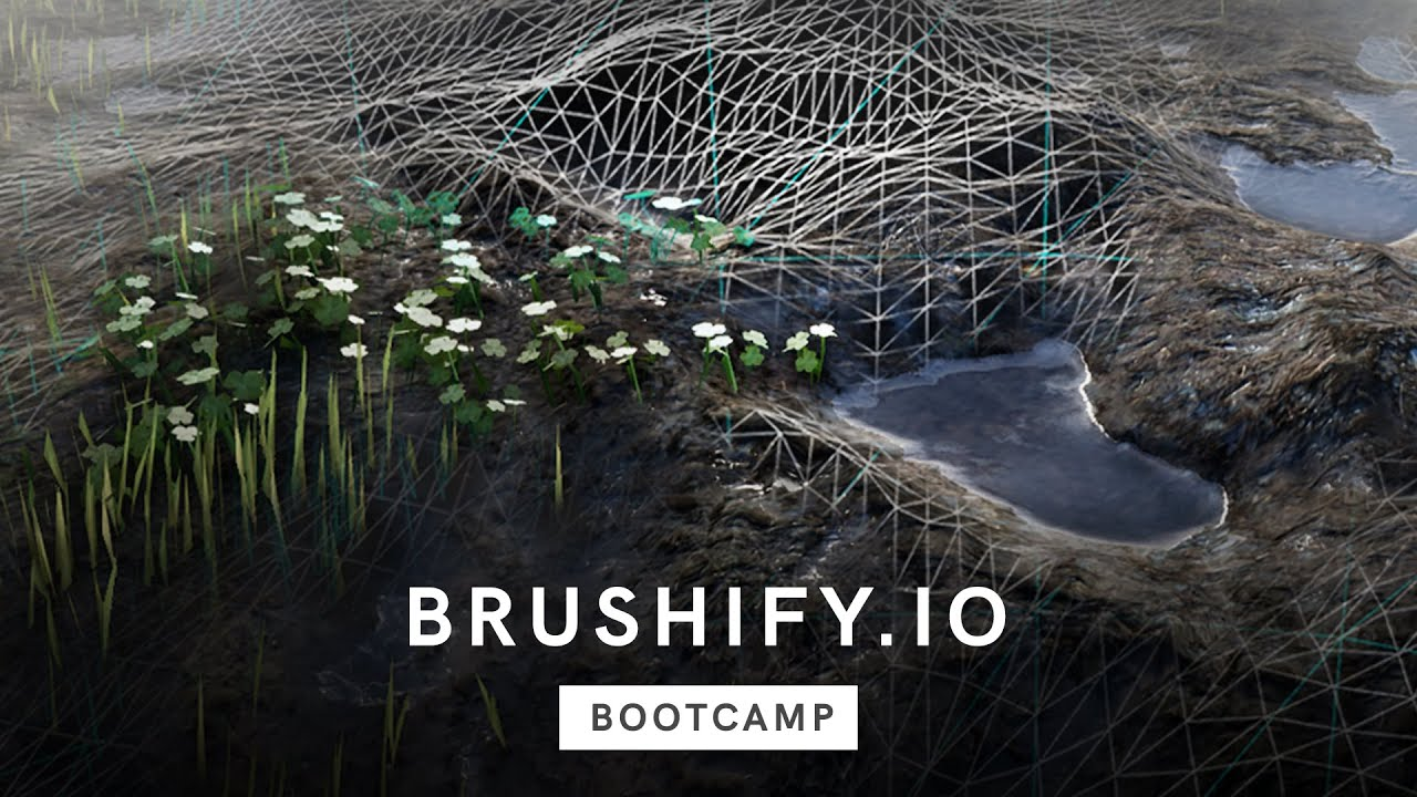 Brushify Bootcamp - Landscape Tessellation in Unreal Engine 4 [Free Tutorial]
