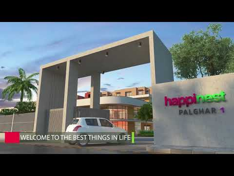 Mahindra Happinest Palghar - Walk-through Video